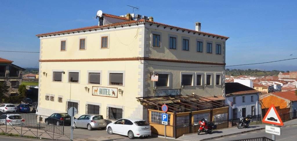Panoramica del hotel restaurante Carvajal