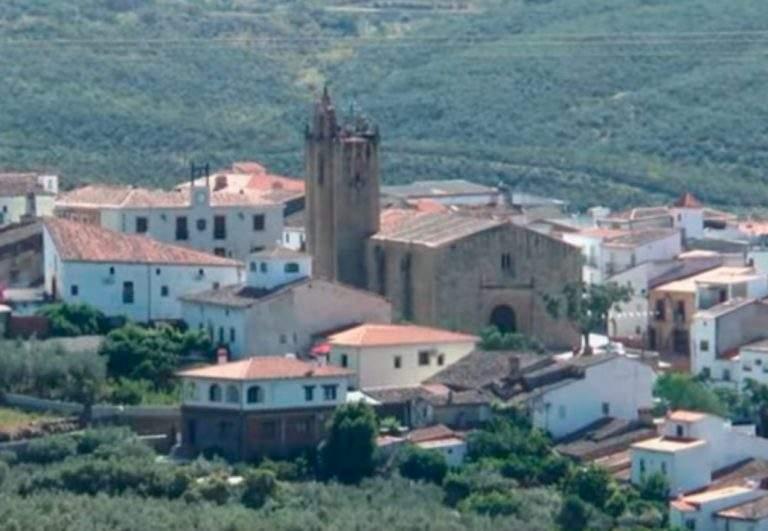 Cañaveral pueblo de monfrague