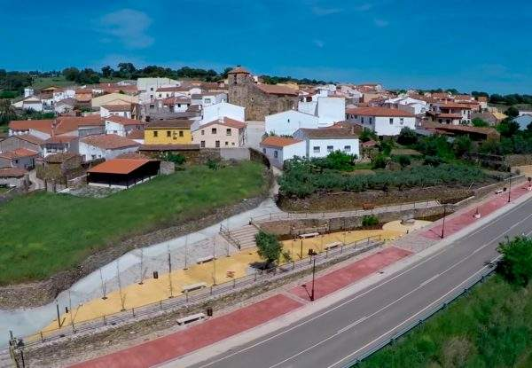 Romangordo pueblo de Monfragüe