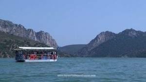 Embarcación en Monfragüe
