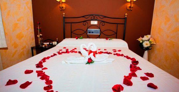 Habitaciones dobles matrimonio Hotel Restaurante Carvajal