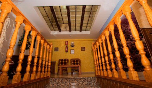 Entrada Hotel Restaurante Carvajal