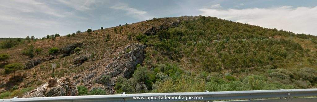Panoramica del Mirador la serrana en el parqiue Nacional de Monfrague