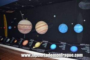 Maquetas explicativas Observatorio Astronómico Monfragüe