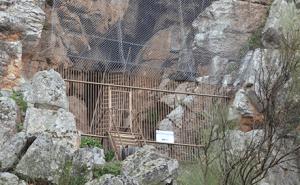 Foto de la Cueva del Castillo de Monfragüe