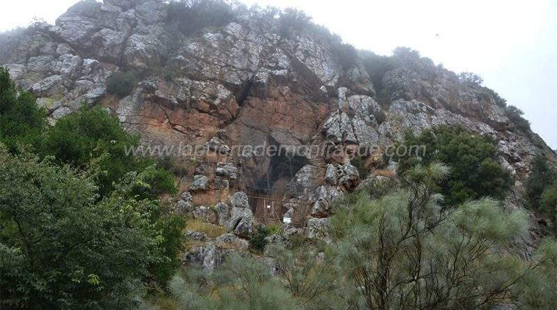 Cueva prehistoria del Castillo de Monfragüe
