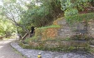Foto de la fuente del frances en el parque nacional de Monfragüe
