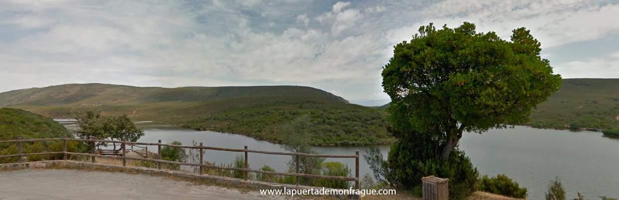 Mirador Higuerilla en el Parque Nacional de Monfrague