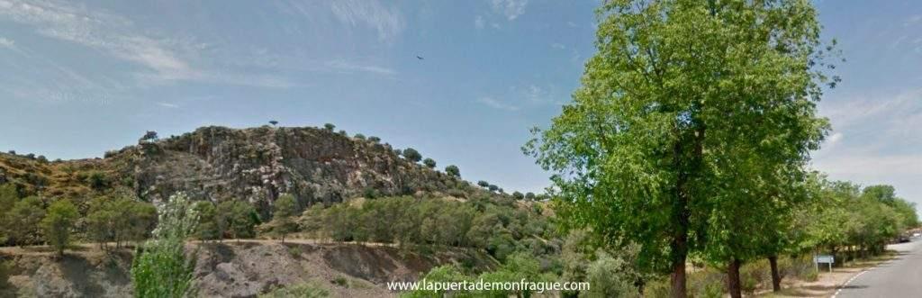 Panoramica del Mirador Tajadilla en el parqiue Nacional de Monfrague
