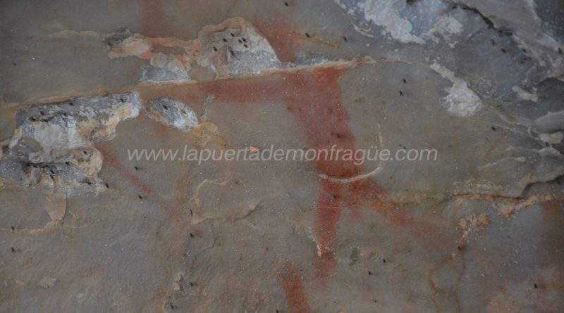 Arquero pintura rupestre
