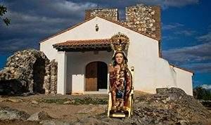 Foto de la Virgen del Monfrague