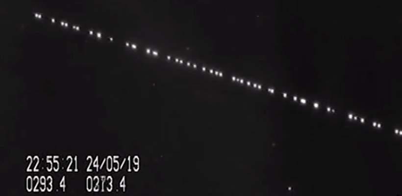 Los satélites SpaceX Starlink