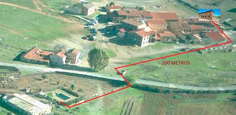 Piscina Casas Rurales Al-Mofrag Mirador de Monfragüe