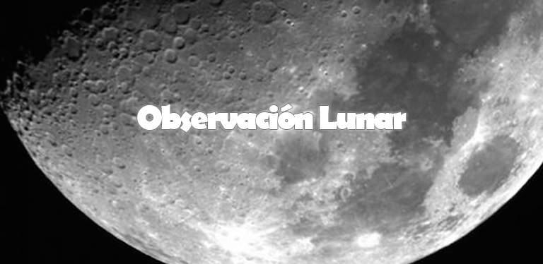 Observación Lunar en monfrague