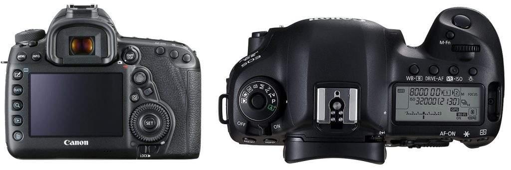 Canon EOS 5D Mark IV Full Frame DSLR
