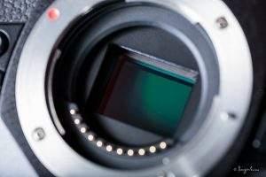 sensor de una cámara digital