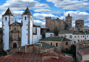 Alojamientos en Cáceres
