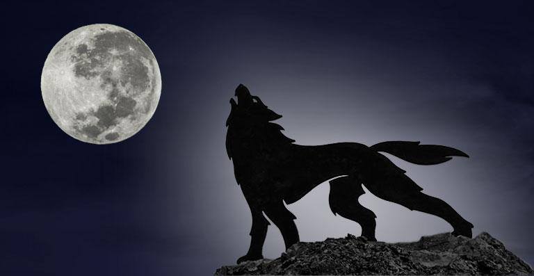 La Luna Llena del Lobo o luna Vieja