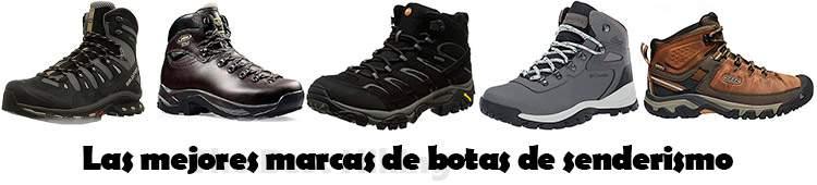 Las mejores marcas de botas de senderismo