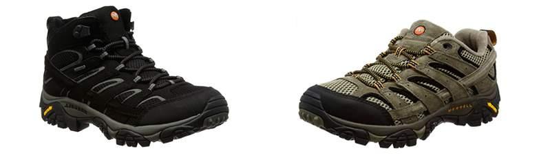 Zapatos de senderismo vs. Botas de senderismo