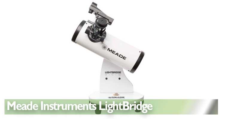 Telescopio astronómicos de iniciación Meade Instruments LightBridge