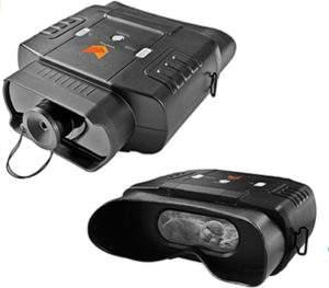 Prismáticos de visión nocturna por infrarrojo digital