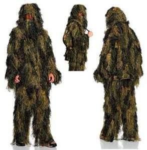 Mejores trajes de camuflaje