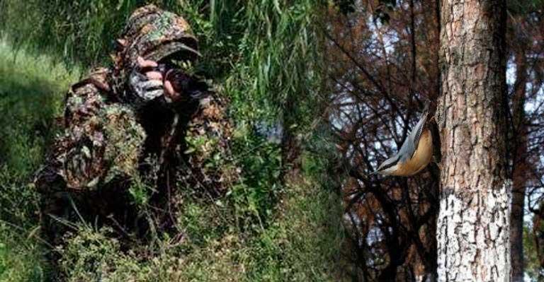 Mejores trajes de camuflaje francotirador para la fotografía de Fauna
