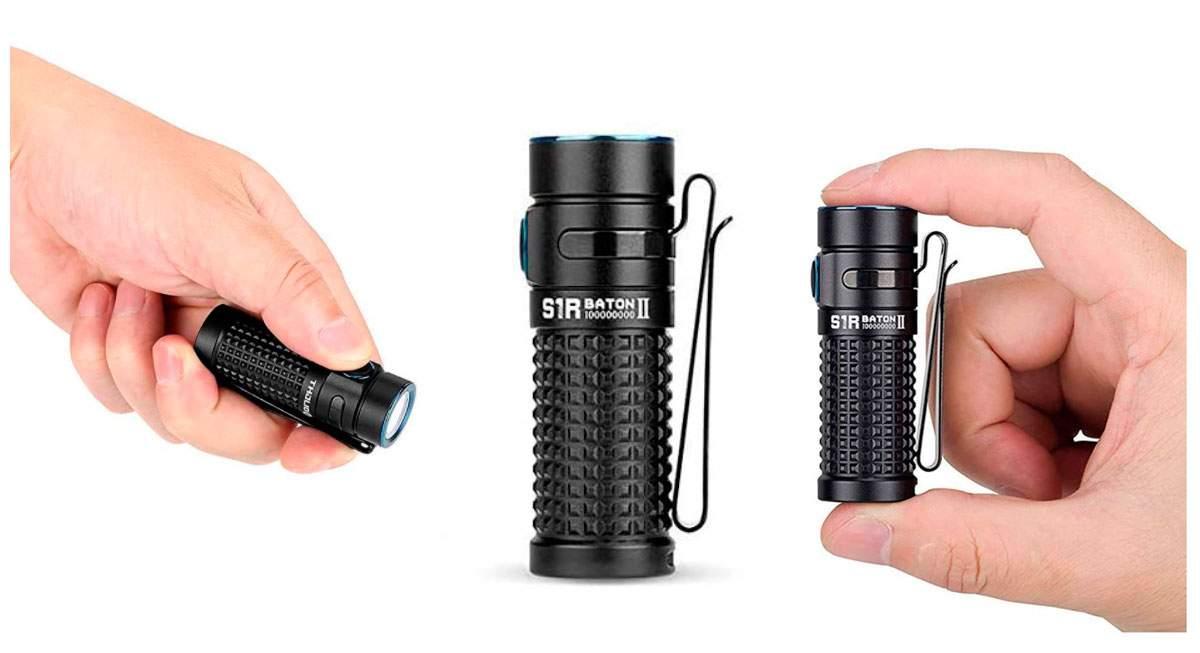 Olight S1R Baton II: Una luz pequeña con gran potencia