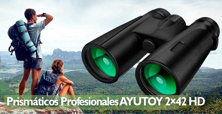 AYUTOY Prismaticos Profesionales,12x42 HD