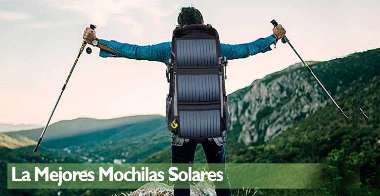 La mejores mochilas solares