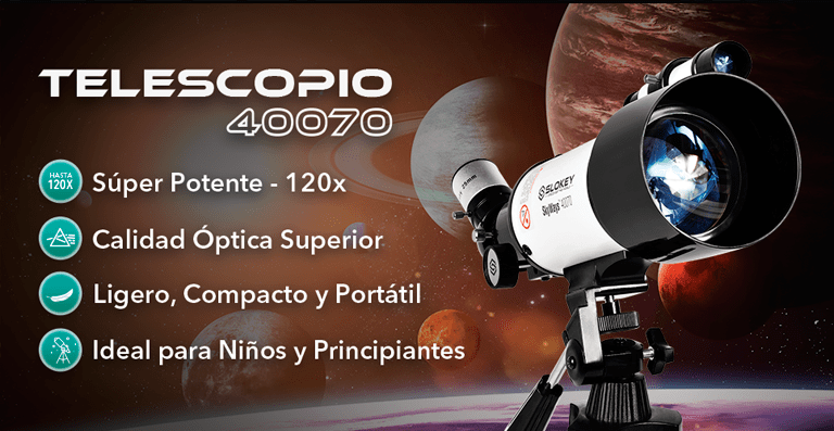 Telescopio astronómico más vendido - Slokey TEL40070