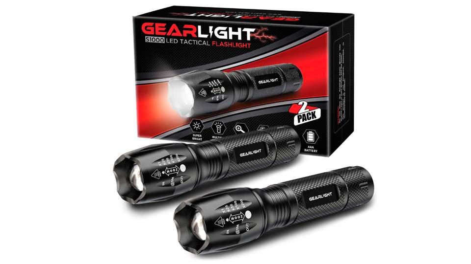 Linterna de alta potencia Gearlight