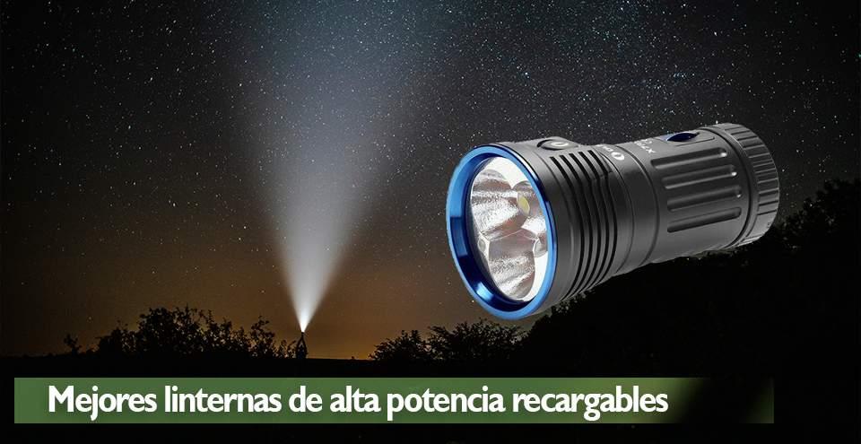 linterna de alta potencia