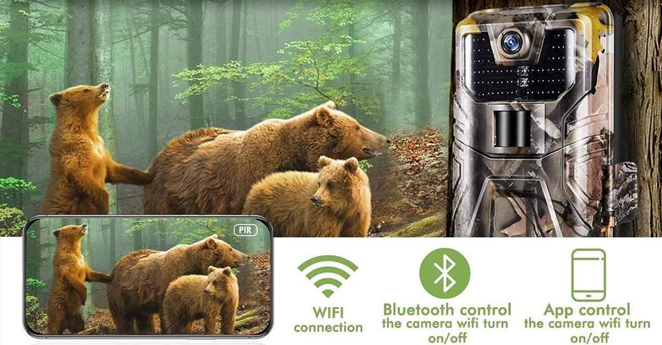 Cámara SUNTEKCAM Wifi900