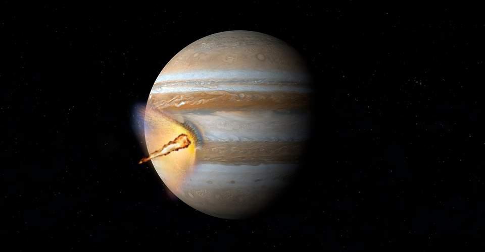 Astrónomo aficionado capta impacto en el planeta Júpiter en 2021